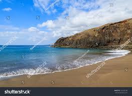 Volcanic Sand Black Sand Volcanic Prainha Beach On Stock Photo 152323730