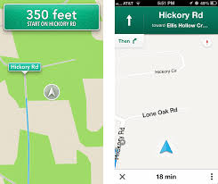 Maps Direction Comparing Apple U0027s Maps And Google Maps Tidbits