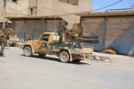 Resuming Resuming The Campaign Sdf Fighters Are 6 Km From Al Raqqa Anha