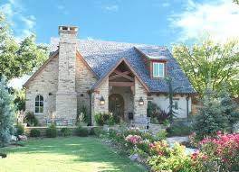 english cottage traditional exterior oklahoma city by