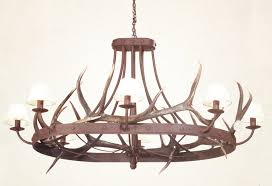 Interesting Rustic Wooden Wrought Iron Chandeliers Shades Of Light