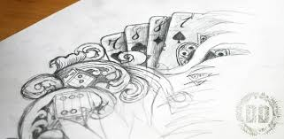 poker tattoo on pinterest poker tattoo poker and gambling