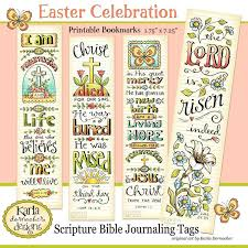 printable easter bookmarks to colour easter full color printable bible journaling bookmarks