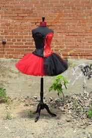 Harley Quinn Halloween Costume Kids Harley Quinn Costume Tutu Beautiful Red Black Tulle