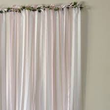 pale pink wedding backdrop by just add a dress