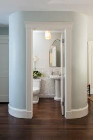 bathroom chair rail ideas powder room ideas with pedestal sink powder room traditional with