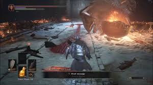 dark souls 3 dlc sister friede and father ariandel boss fight w