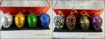 joan rivers egg ornament collections from 2006 and 2008