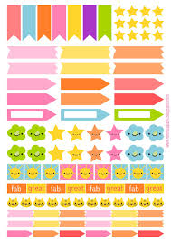 homemade planner templates free printable page flags and planner stickers from meinlilapark free printable page flags and planner stickers from meinlilapark