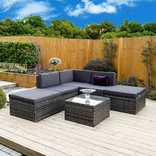 Outdoor Rattan Corner Sofa 6 Piece Lake Como Modular Rattan Corner Sofa Set From Season 2 Season