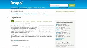 drupal different templates for different pages changes in display suite version 2 drupalize me