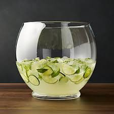 punch bowl punch bowls crate and barrel
