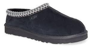 black ugg slippers ugg mens tasman slipper at feet first feet first nj