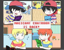 magicant chatroom is back by memoriimakiko on deviantart