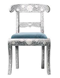 Bone Inlay Chair 25 Exotic Furnishings That Will Brighten Up Your Home Photos