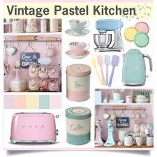 pastel kitchen ideas vintage pastel kitchen polyvore