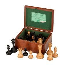 antique jaques staunton chess set richard gardner antiques