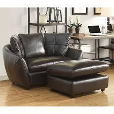 milano leather oversized chair and storage ottoman sam u0027s club