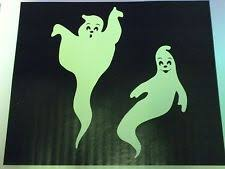 Glow In The Dark Halloween Window Decorations by Halloween Window Clings Ebay