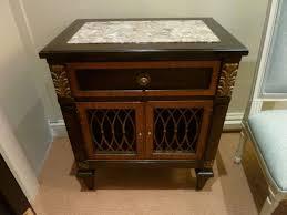 Antique Marble Top Nightstand Granite Marble Top Nightstand U2014 New Decoration Marble Top