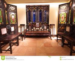 old chinese living room editorial image image 20671170