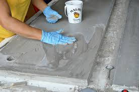 Diy Vanity Top Diy Concrete Countertop Tutorial