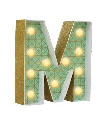 ustensile de cuisine en m en 6 lettres lettre lumineuse m à personnaliser hema