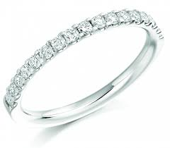 half eternity ring half diamond eternity rings