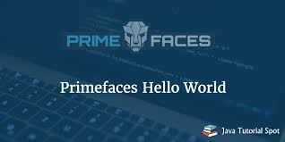 tutorial java primefaces primefaces hello world with step by step guidance