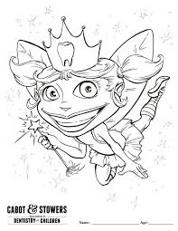 tooth fairy coloring pages funycoloring