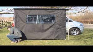 Tent Awnings For Sale Vw T5 California Awning Kit Youtube
