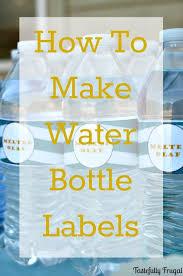 25 unique water bottle labels ideas on pinterest water bottle