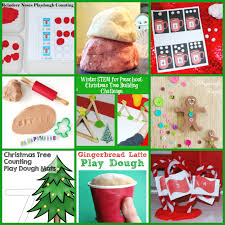 60 play dough fall winter centers and activities for preschool