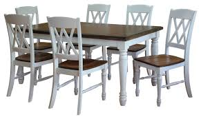 1st avenue inverness 7 piece dining table and chair set
