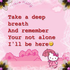 textgram hellokitty cute quote greeting card sale