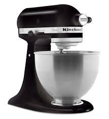 all black kitchenaid mixer classic series 4 5 quart tilt head stand mixer k45ssob onyx black