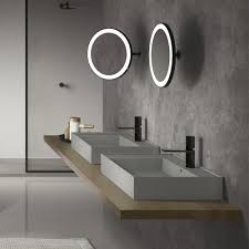 Led Bathroom Mirrors Illuminated Bathroom Mirrors A Stylish Bathroom Lighting