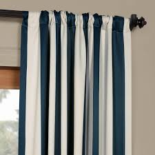 Striped Blackout Curtains Best Blue And White Striped Blackout Curtains 2018 Curtain Ideas