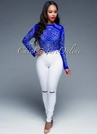 royal blue blouse top pin by chic couture on clothing chic couture