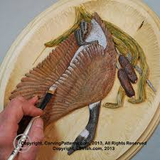 step by step photo instruction relief wood carving pyrography