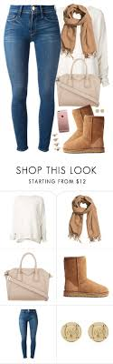 ugg denim sale fall mood by daisym0nste on polyvore featuring frame