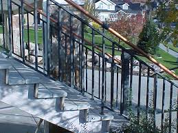 double top iron railings the iron anvil salt lake city utah