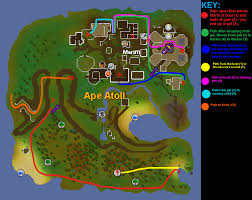 Runescape World Map by Monkey Madness Old Runescape Wiki Fandom Powered By Wikia