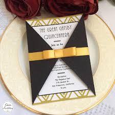 gatsby invitations 51 best etsy invitations images on 16th birthday