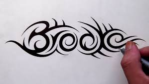 custom tattoo designs hidden tribal name brooke youtube
