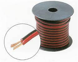 255 518rb 100 ft 18 gauge speaker wire red black