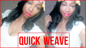 weave no leave out hairstyle brazillian super quick weave no leave out youtube