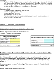 chambre syndicale nationale de l eau de javel avis de la société française d hygiène hospitalière relatif à l