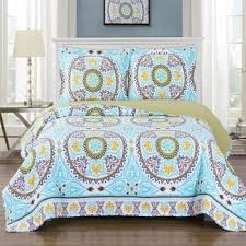 best 2017 deals on oversized bed quilts quilted coverlet sets