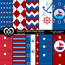 Nautical Party Theme - paper goods kids party the